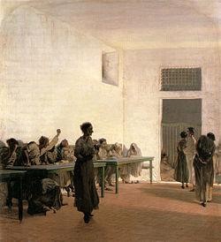 250px-Telemaco_Signorini,_La_sala_delle_agitate_al_San_Bonifazio_in_Firenze,_1865,_66x59cm
